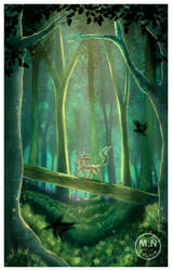 Leafeon's Forest by mnvulpin