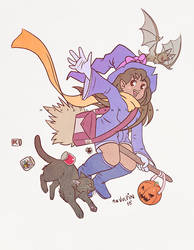Young Witch by mnvulpin