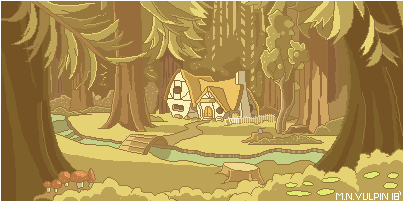 Cottage of the 7 Dwarfs by mnvulpin