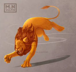 Lion by mnvulpin