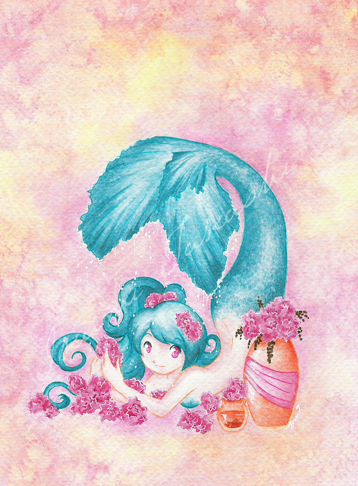 Las Rosas de la Dulce Sirena by Ikumi-Takashi