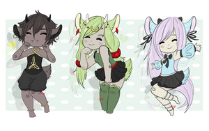 Kemonomimi Batch 1 - OTA - closed by MintHeartAdopts