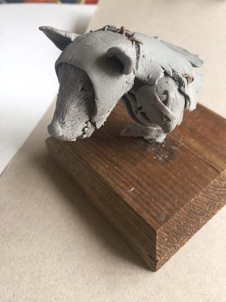 Warhammer Skaven Bust by CultureSculpts