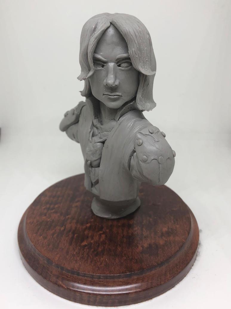 CriticalRole - Matthew Mercer Sculpture (Sketch) by CultureSculpts