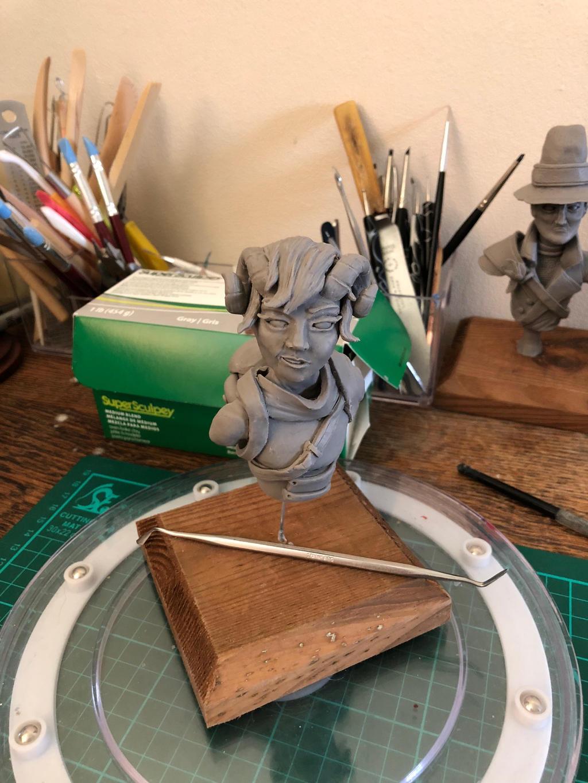 Critical Role - Jester Sculpture by CultureSculpts