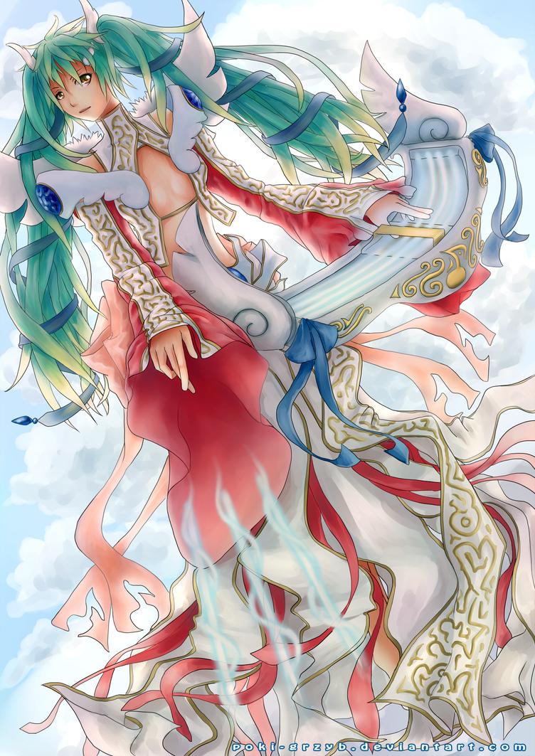 Celestial Sona by Poki-grzyb