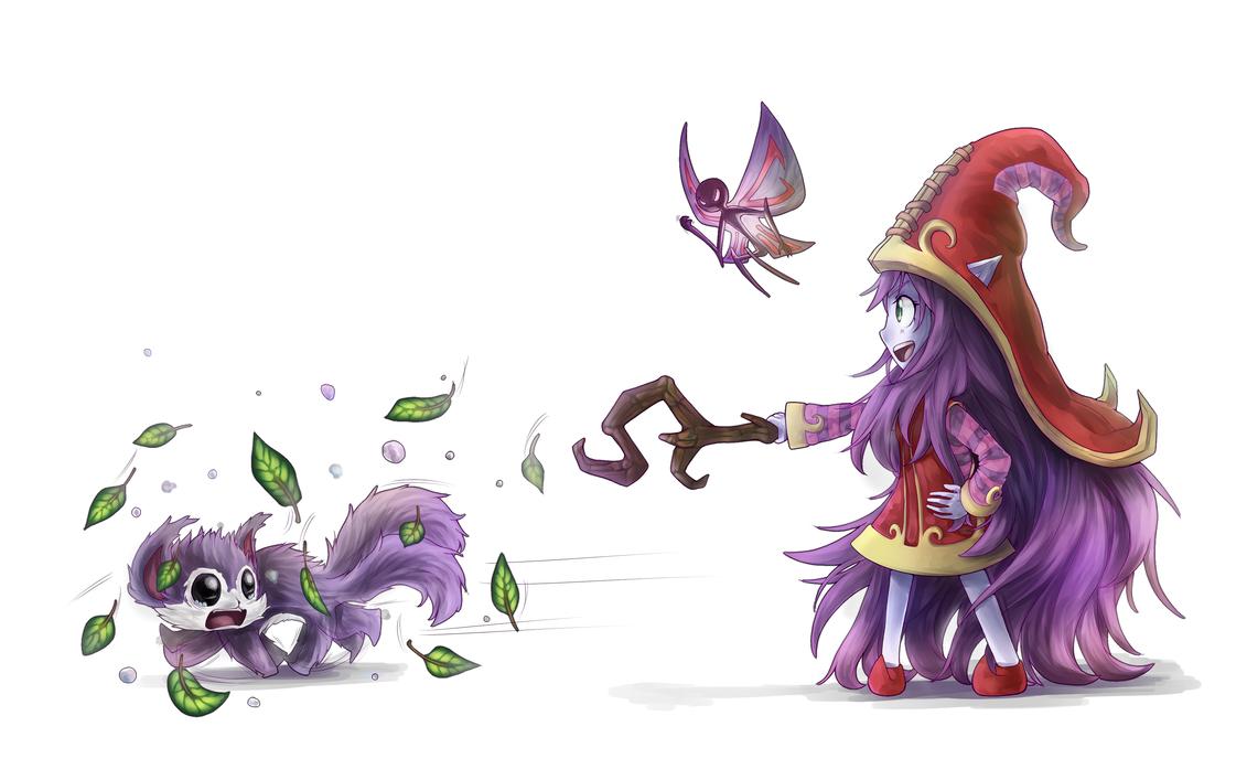 LoL SS: Lulu for adrusaurio by Poki-art