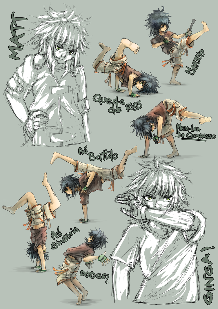 Let's Capoeira! by Poki-grzyb