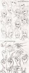 sketches vol 14 by Poki-art
