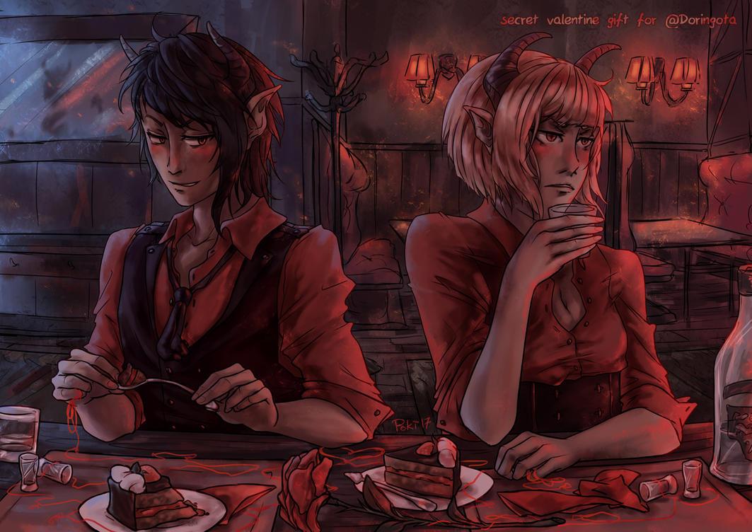 Devil Date by Poki-art