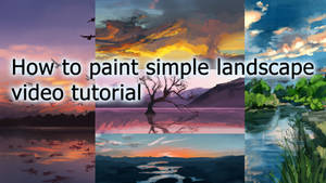 BECOME THE NEXT BOB ROSS... paint landscapes!!