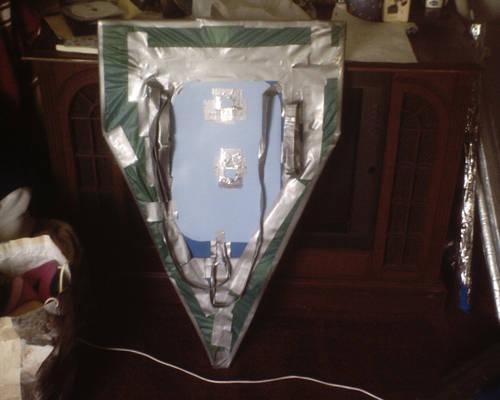 Back of Kite Shield