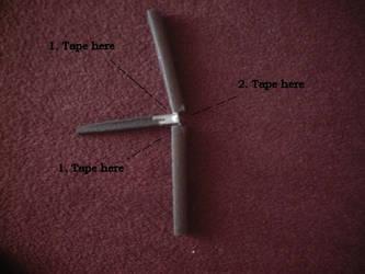 Boffer butterfly knife