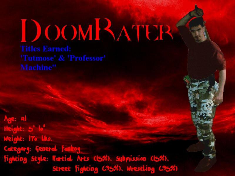 doomrater's Profile Picture