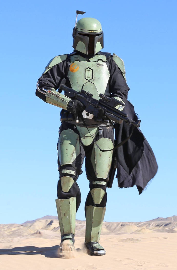 Mandalorian cosplay by jfett69