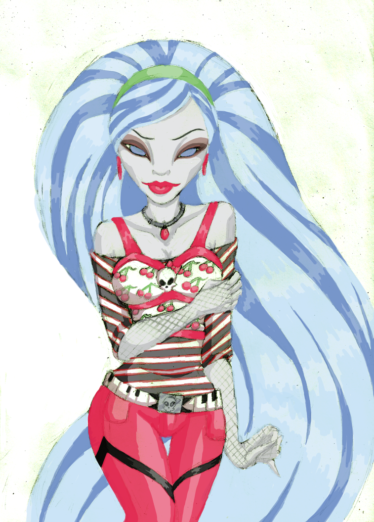 Ghoulia yelps by sinayastarchild on deviantart - Monster high ghoulia yelps ...