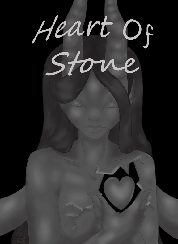 Heart Of Stone CoverPage by SinayaStarChild