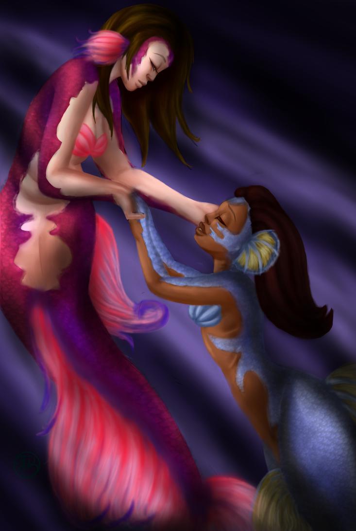 Mermaids by SinayaStarChild