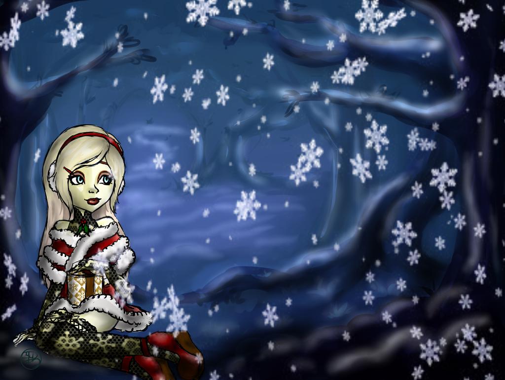 Winter WonderLand by SinayaStarChild