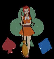 .: Little Meg the Witch Girl .: by nikki-kai