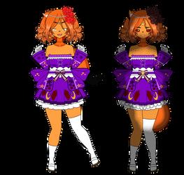 .: that darned fox doll .: by nikki-kai