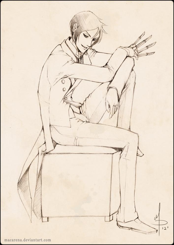 Kuroshitsuji - Sebastian by macarena