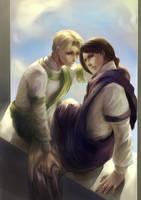 Ayar and Itanu by macarena