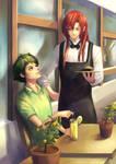 Suguru and Hiroshi, GRAVITATION - Comm. Chawia