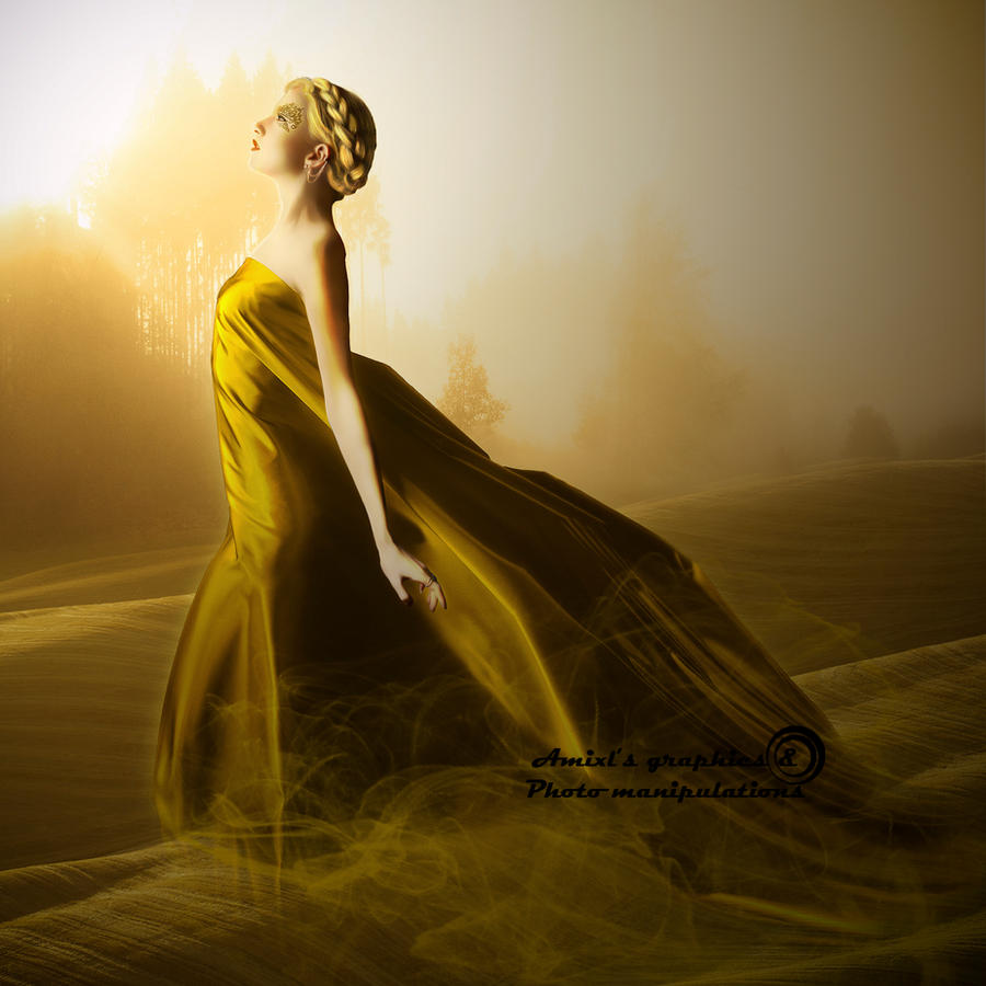 Golden Mist by Laxmi-Arts