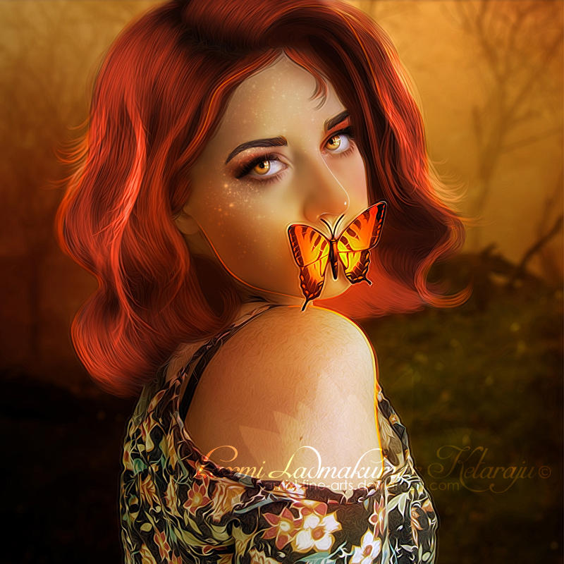 Butterfly by Laxmi-Arts