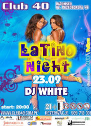 Latino Hight - Club 40 flyer by damid
