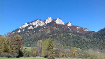 Pieniny, Trzy Korony / Pieniny Mountains by damid