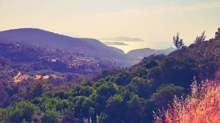 Rhodos view by damid