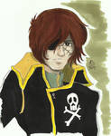 A Phantom of Future Harlock