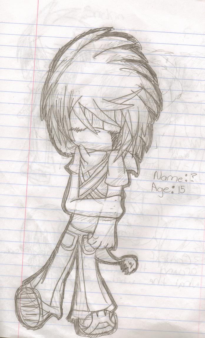 Random School doodle by HuskyFrusky