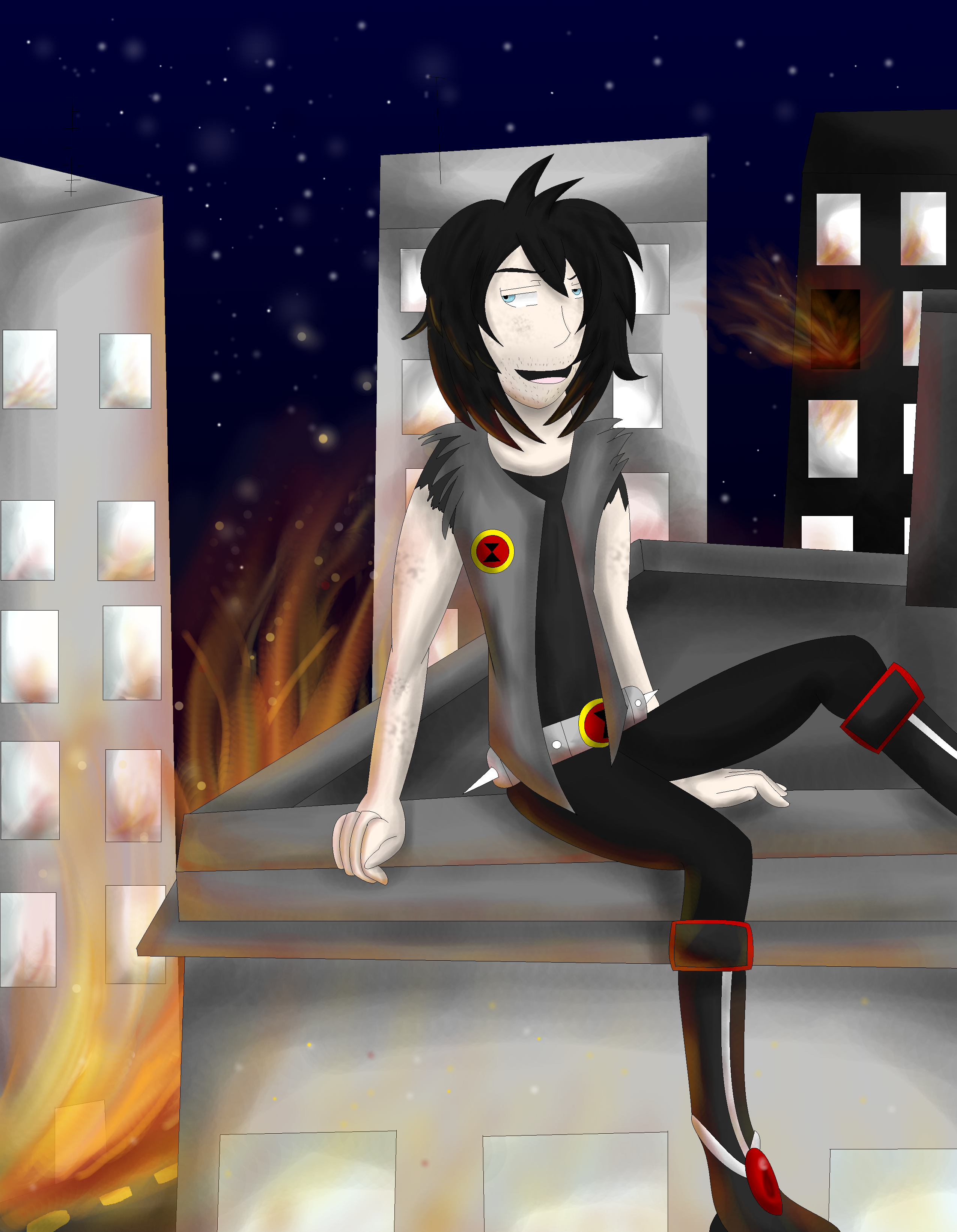 x ::Till the sky bleeds ashes:: x by HuskyFrusky