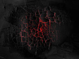 Burning Black Cracked Yogurt - texture by Black-B-o-x
