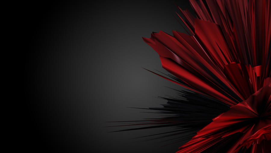 Red Abstract Wallpaper 2 By Black B O X