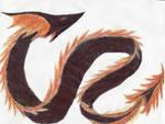 Veined-Frill Fire Dragon