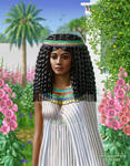 Ancient Egyptian woman 1 by aroundthestar