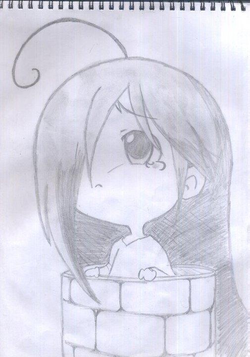 Sad chibi anime