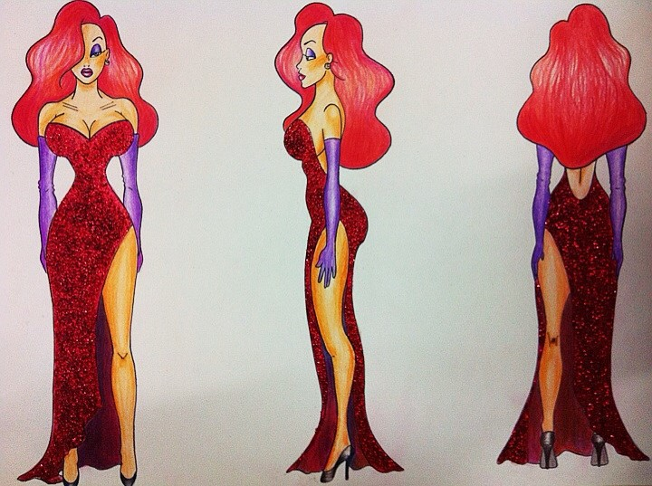 Jessica Rabbit by Aelebea2
