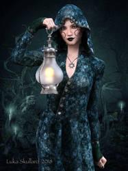 Spooky OCs: Dark Moon by LukaSkullard