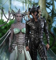 Odhan and Aiobheann