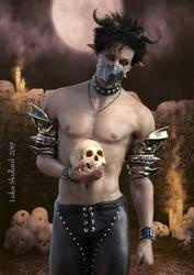 Rictus Gravewhisper by LukaSkullard
