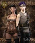 The Clockwork Adventures of Aldus and Bellatrix