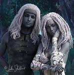 Lyta and Thoon by LukaSkullard