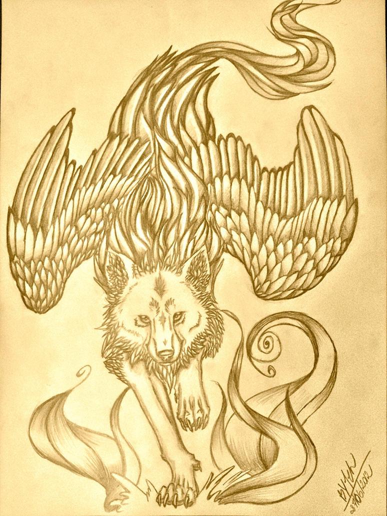 Great Wolf II by TehChan