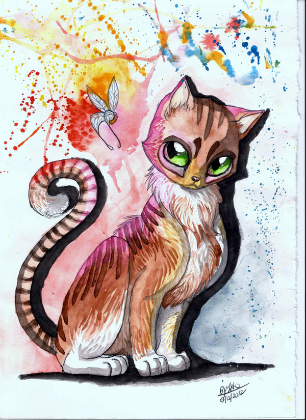 Cat by TehChan