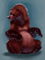 Bear- Concept Art by TehChan